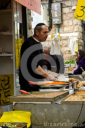 Jerusalem market Editorial Image