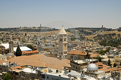 Jerusalem Old City Stock Images - Image: 20180034