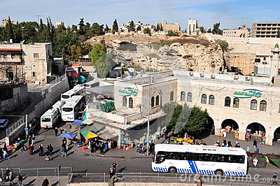 Jerusalem Old City Editorial Image