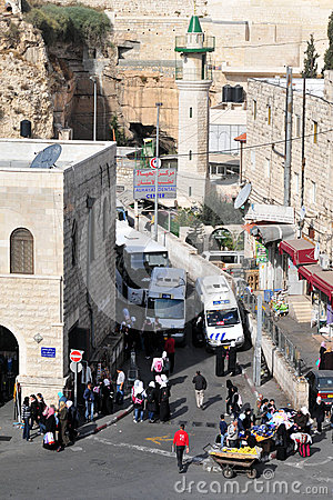 Jerusalem Old City Editorial Photography