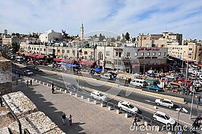 Jerusalem Old City Editorial Photography
