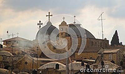 Jerusalem skyline Editorial Photography