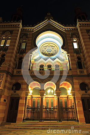 Jerusalem Synagogue in Prague