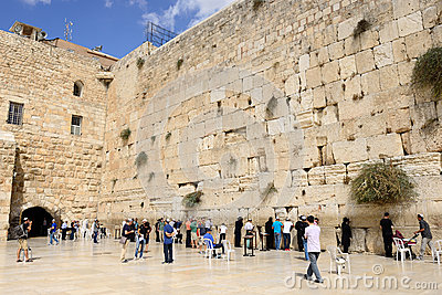 Jerusalem wall Editorial Stock Photo