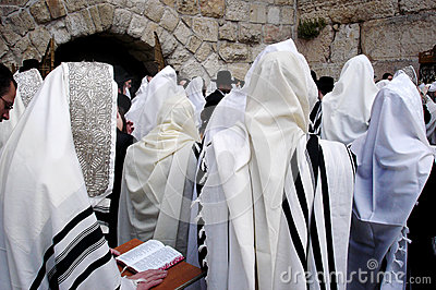 Jerusalem Western Wall Editorial Stock Photo