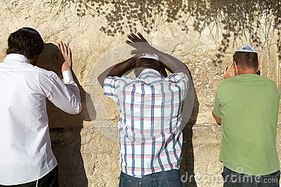Jerusalem Western Wall Editorial Stock Photo