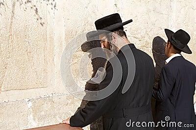 Jerusalem Western Wall Editorial Photography