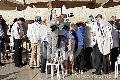 Jerusalem Western Wall Editorial Stock Image