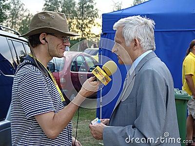 Jerzy Buzek - President of the European Parliament Editorial Photo