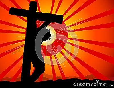 Jesús crucificó