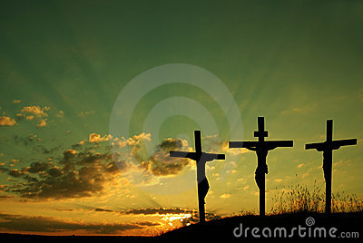 Jesús crucifica
