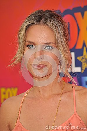 Jessalyn Gilsig Editorial Stock Image