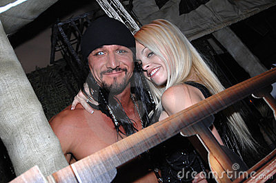 Jesse Jane and Tommy Gunn Editorial Stock Image