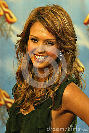 Jessica Alba Editorial Stock Image