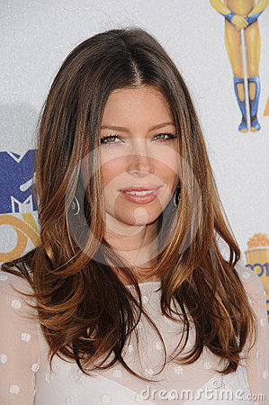 Jessica Biel Editorial Stock Image