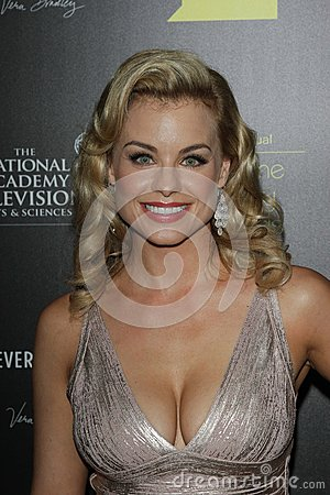 Jessica Collins at the 39th Annual Daytime Emmy Awards, Beverly Hilton, Beverly Hills, CA 06-23-12 Editorial Stock Image