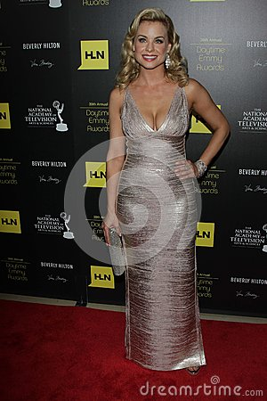 Jessica Collins at the 39th Annual Daytime Emmy Awards, Beverly Hilton, Beverly Hills, CA 06-23-12 Editorial Stock Photo