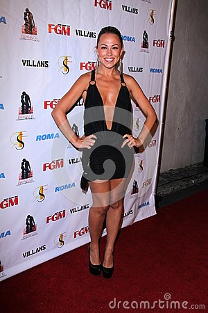 Jessica Hall at the FGM Swimsuit Issue Launch Hosted By Roma Swimwear, The Colony, Hollywood, CA 05-26-12 Editorial Photo