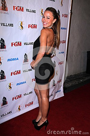 Jessica Hall at the FGM Swimsuit Issue Launch Hosted By Roma Swimwear, The Colony, Hollywood, CA 05-26-12 Editorial Image