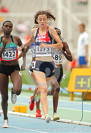 Jessica Judd of Great Britain Editorial Stock Photo