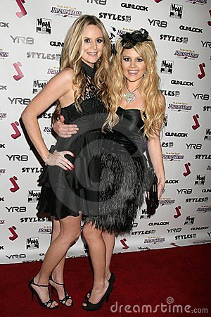 Jessica Kinni and J.Smith at the J.Smith Music Video Debut Premiere Party. Les Deux, Hollywood, CA. 02-25-09 Editorial Stock Photo