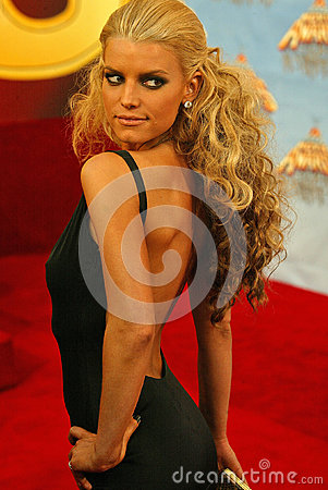 Jessica Simpson Editorial Stock Photo