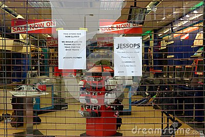 Jessops camera store closed down on High Street Putney in London Editorial Photo