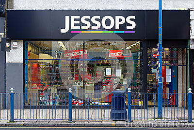 Jessops camera store closed down on High Street Putney in London Editorial Image