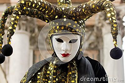 Jester costume Editorial Photo