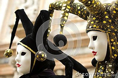 Jester costume Editorial Stock Image