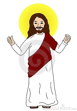 Image result for clipart jesus