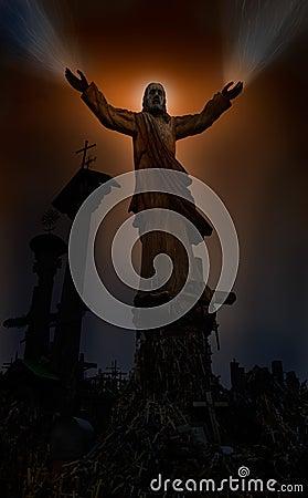 руки излечивая jesus
