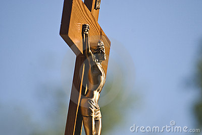 Jesus Christ in the cross