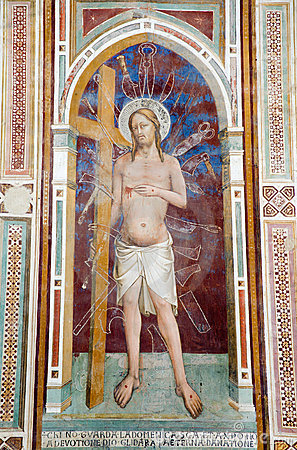 Jesus Christ from Florence - fresco