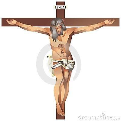 Free Jesus Christ In The Cross Royalty Free Stock Photos - 1463708