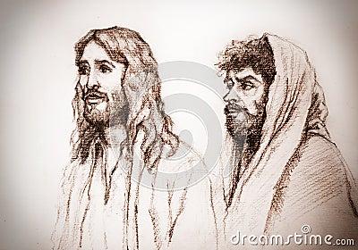 Jesus Christ of Nazareth and Judas
