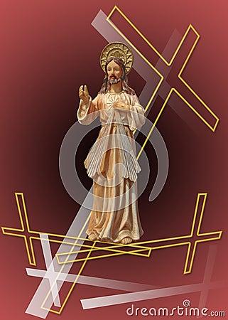 Free Jesus Christ Resurrecting Ll Stock Photography - 2241122