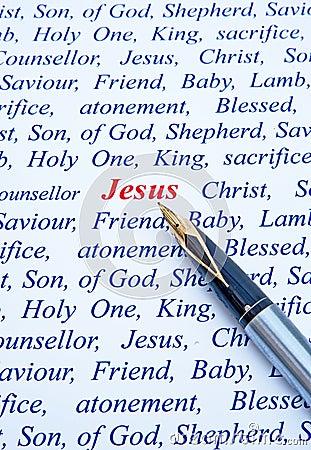Jesus Christ: Shepherd, King and Saviour.