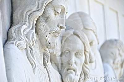 Jesus Christ Statue Editorial Image