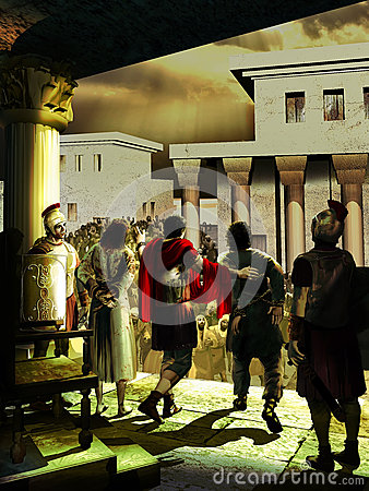 Jesus Christ vs Barrabas