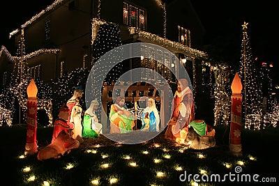 Christmas Decoration Jesus Birth | Holliday Decorations
