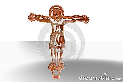 Jesus on Cross Illustration