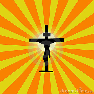Jesus Cross Sunburst