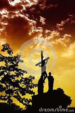 Free Jesus Crucifixion Stock Photography - 13549822