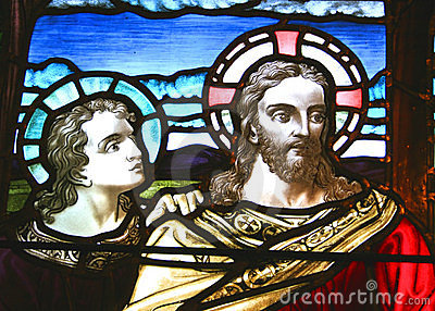 Jesus & the Disciple