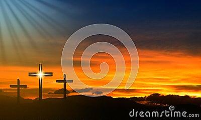 Jesus Easter Cross