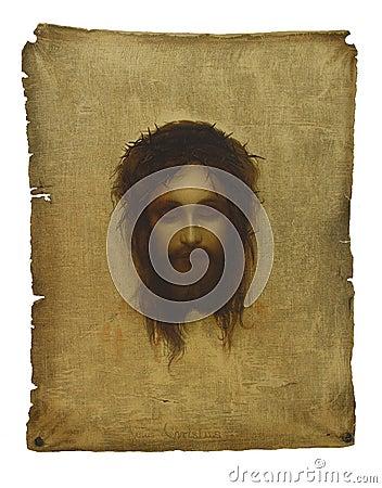 Free Jesus Face Stock Photo - 7769050