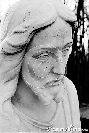 Jesus Face closeup