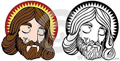 Jesus Face Set