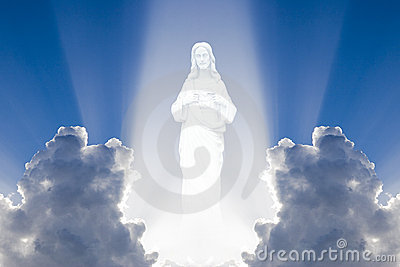 Jesus in the heaven